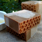 Goats Milk Handmade Soap with Blossom Honey Made With Local Farm Fresh Milk
