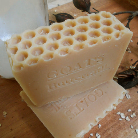 Buttermilk and Goat Milk Handmade Soap with Oatmeal and Honey