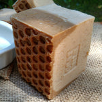 goat's milk soap with blossom honey