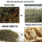 Kelp moss green tea organic butter