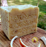 Aged Lemongrass Soap  All Natural  Limited Edition