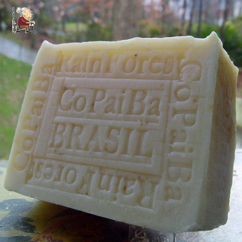 Rainforest Amazon Copaiba Soap all Natural Handmade Milled