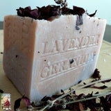 Natural Handcrafted Lavender Geranium Soap Limited Edition 1 Pound