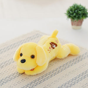 32cm Plush Dog Doll With Colorful LED