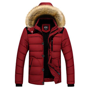 Sitaicery New Men Winter Padded