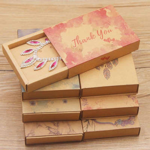 New arrival Diy Thank you jewelry necklace