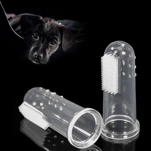 1pcs Pet Dog Finger Toothbrush