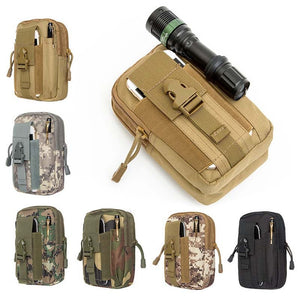 Men Tactical Molle Pouch Belt Waist