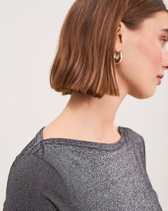 Lurex Boatneck