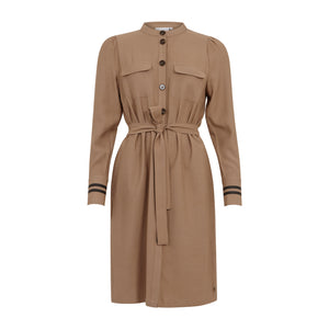 Shirt Dress w. Belt