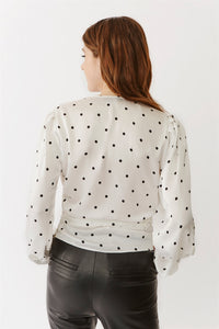 Valentina Dot Blouse