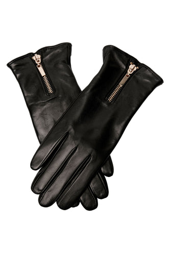 Gloves Gold Zip