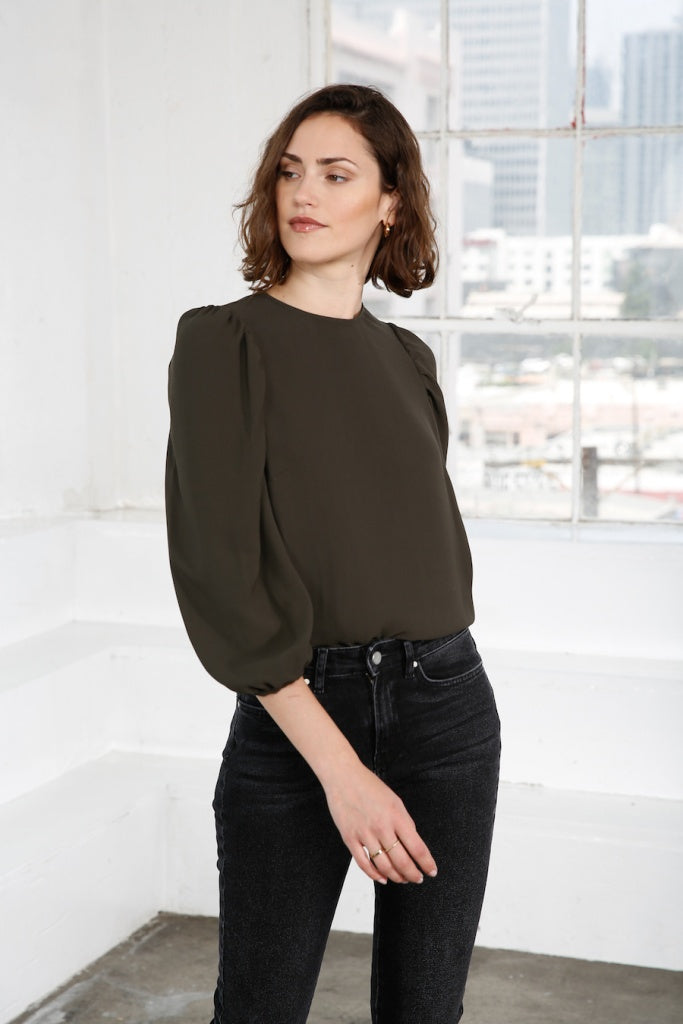 Bea Puff Sleeve Top