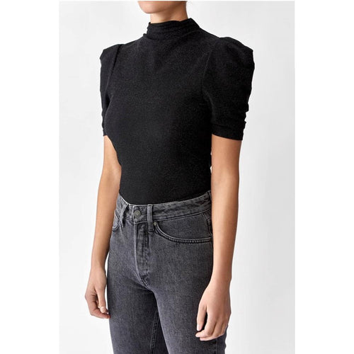 Barb Lurex Top