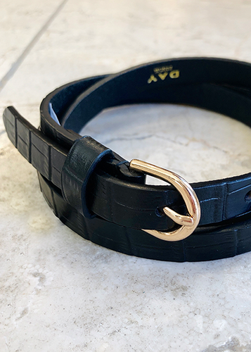 DAY Croco Narrow Belt