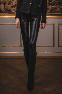 Dee Vegan Leather Leggings