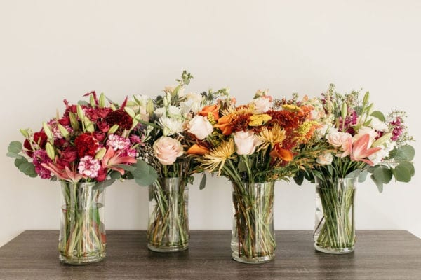 large weekly flower subscription