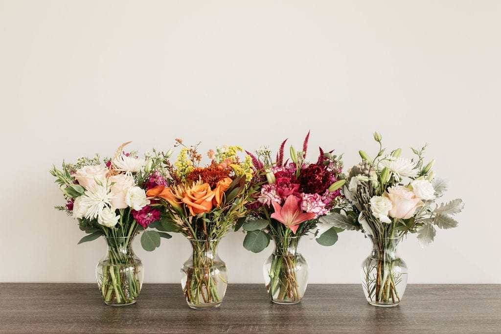 Weekly floral subscription