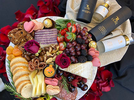 McQueen Charcuterie Plate Valentine's Day Lure Life