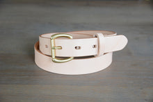 Load image into Gallery viewer, | Essential Belt 30mm NATURAL