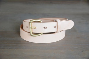 | Essential Belt 30mm NATURAL