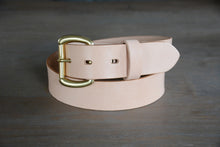Load image into Gallery viewer, | Essential Belt 38mm NATURAL