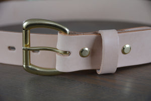 | Essential Belt 38mm NATURAL