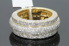 Load image into Gallery viewer, 10K YELLOW GOLD 3.42 CARAT MENS REAL DIAMOND ENGAGEMENT WEDDING PINKY RING BAND