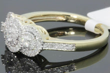 Load image into Gallery viewer, 10K YELLOW GOLD .47 CARAT WOMENS REAL DIAMOND BRIDAL WEDDING ENGAGEMENT RING