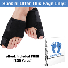 Load image into Gallery viewer, BYE BYE Bunion! Orthopedic Bunion Corrector (2 Pack) + FREE eBook!!