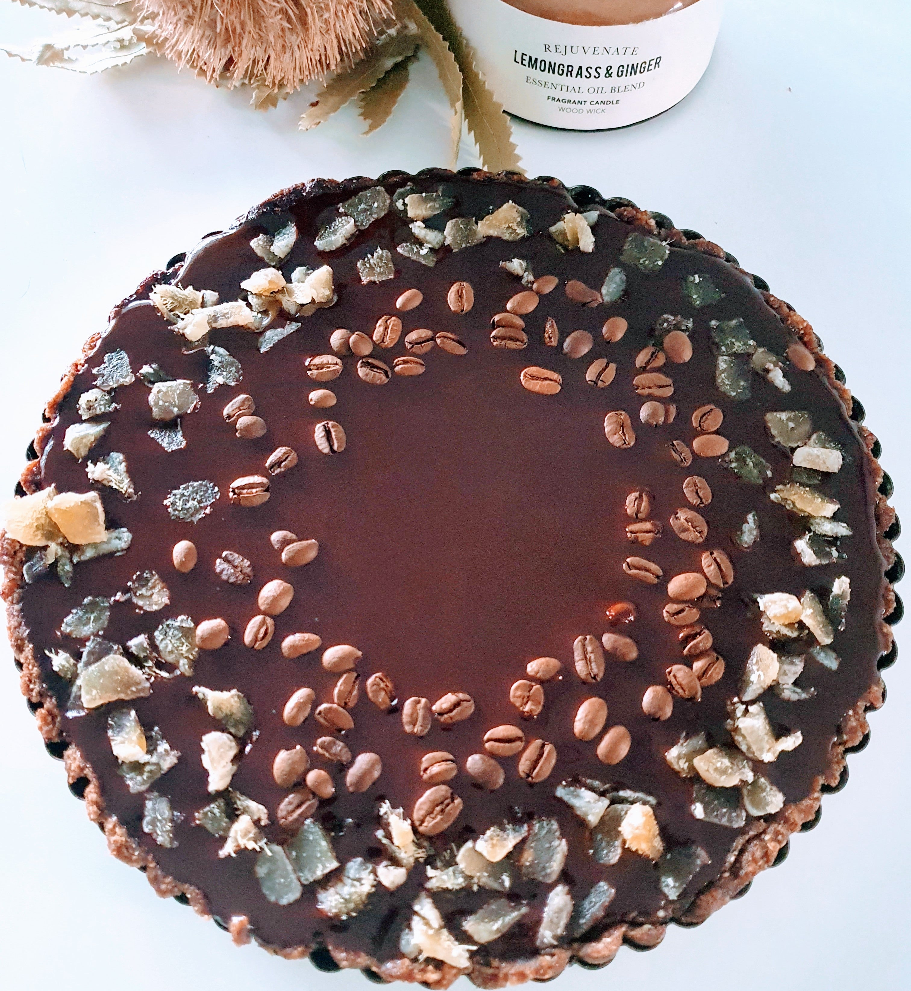 "10"" Sharing Chocolate Tart"