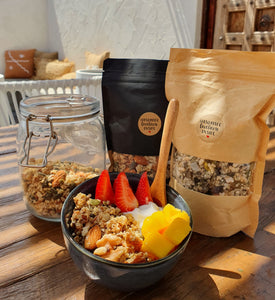 Raw Nut Free Granola 175g (Natural Bag)
