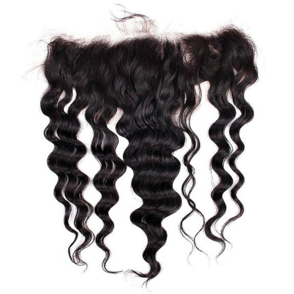 Transparent Brazilian Loose Wave Frontal