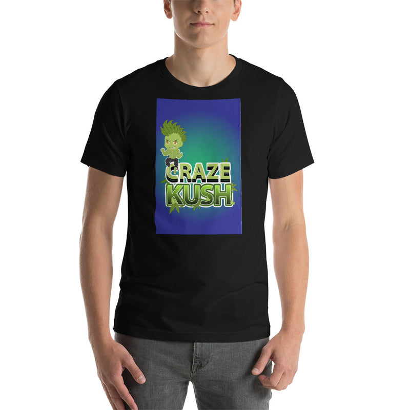 CRAZE KUSH NAK Mode 4 Short-Sleeve Unisex T-Shirt