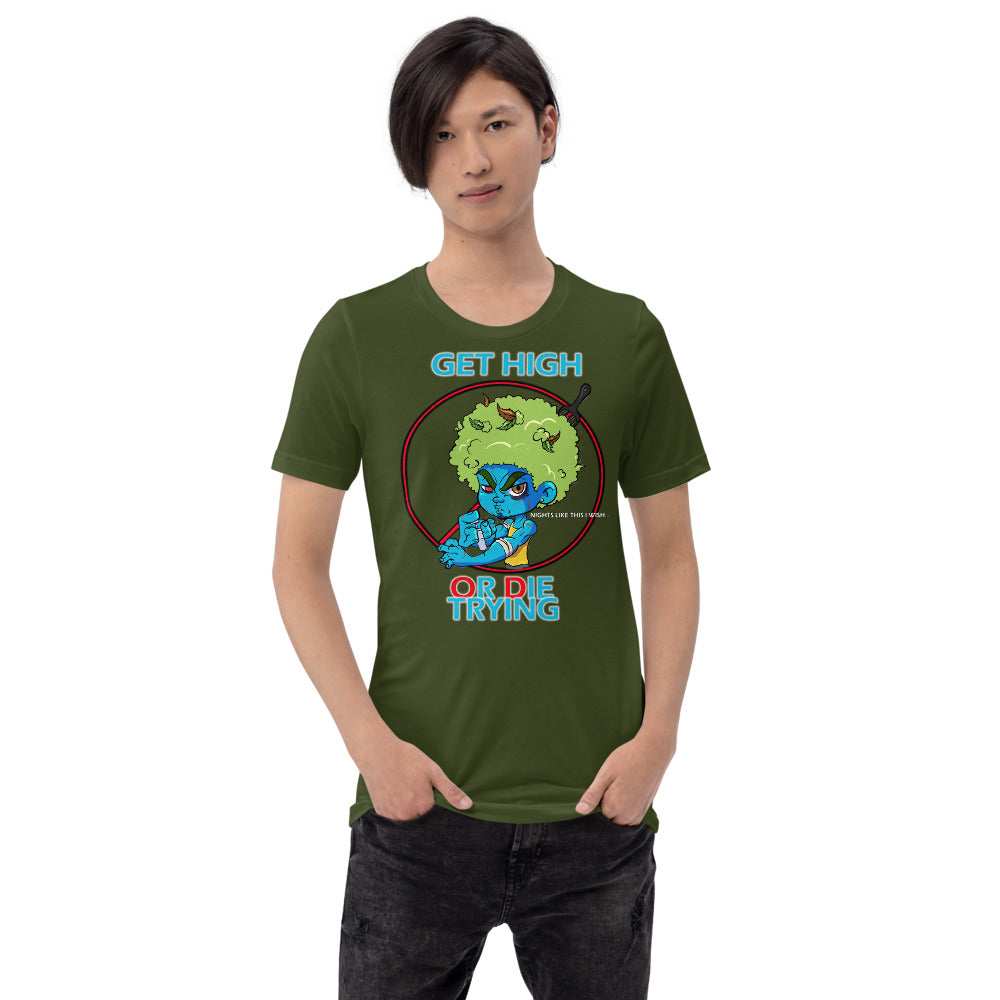 LAZE KUSH LOSER HEAD Short-Sleeve Unisex T-Shirt