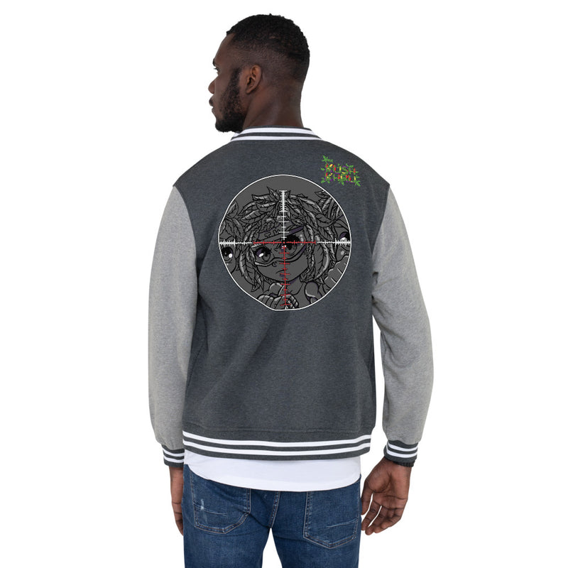 SILLE KUSH PRAK MODE Scope Men's Letterman Jacket
