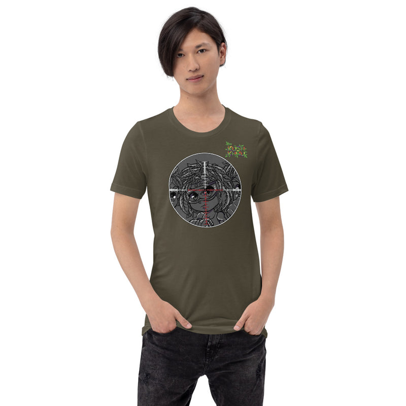 SILLE KUSH PRAK MODE Scope Short-Sleeve Unisex T-Shirt