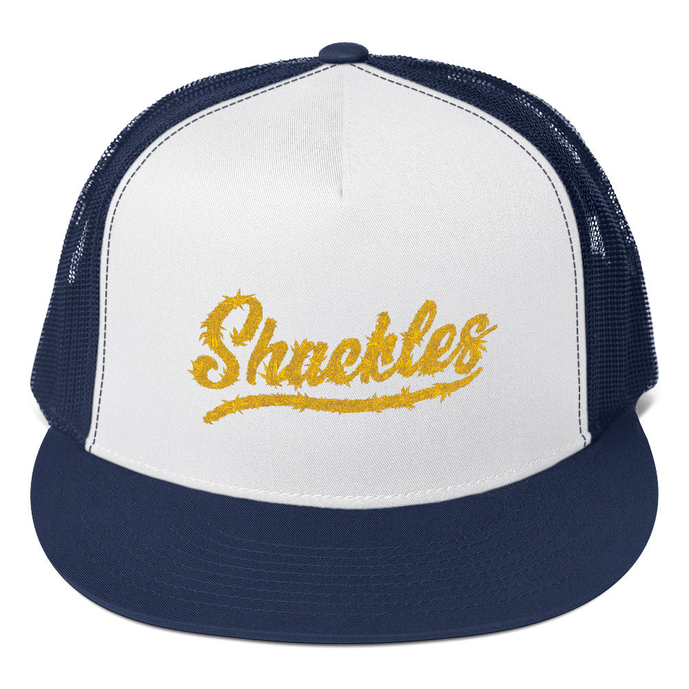 SHACKLES lemon tone Trucker Cap