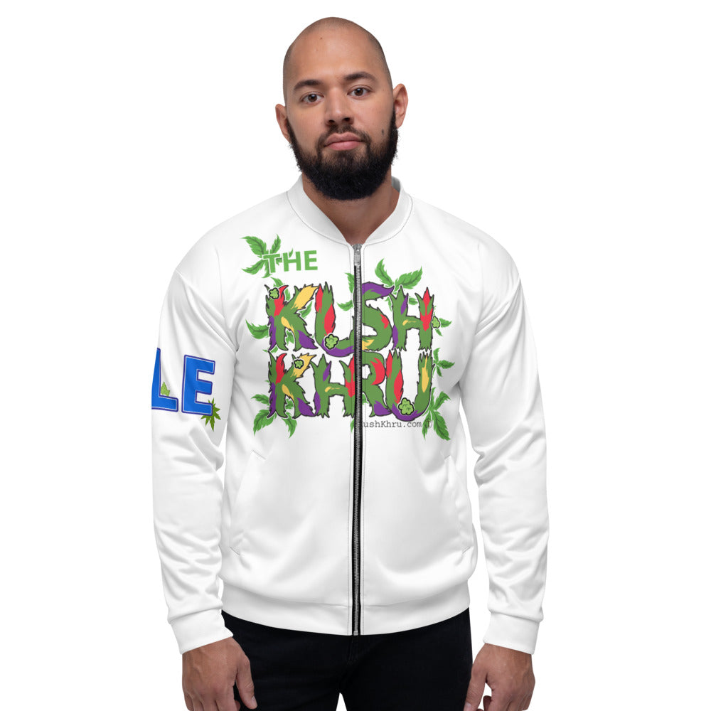 CALE KUSH PRAK MODE Scope Unisex Bomber Jacket