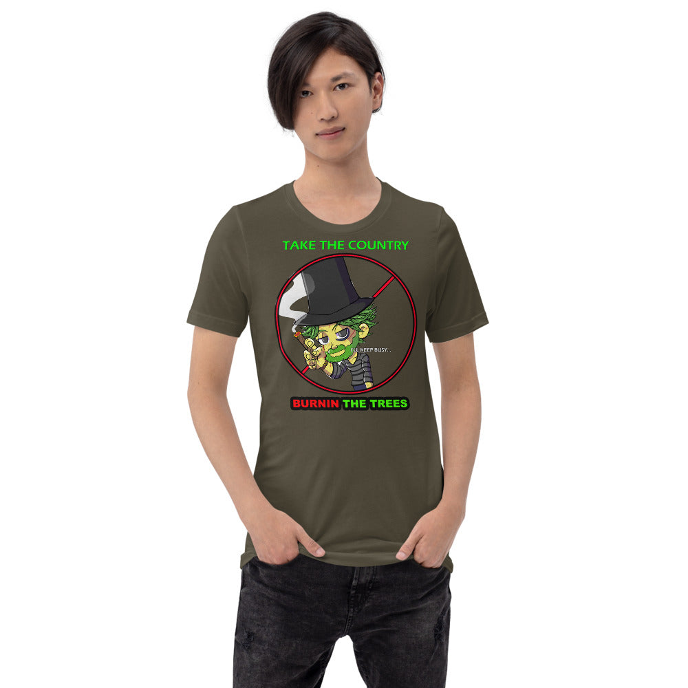 ILLE KUSH LOSER HEAD Short-Sleeve Unisex T-Shirt