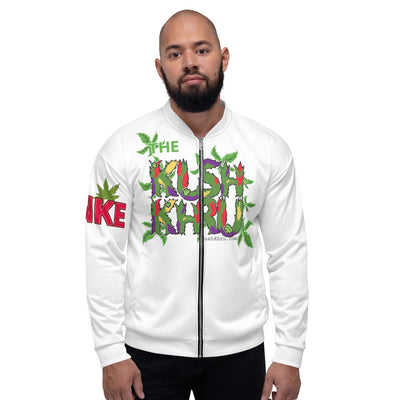 STINKE KUSH PRAK MODE Scope Unisex Bomber Jacket