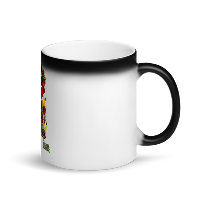 STICKE KUSH Sip Sum Matte Black Magic Mug