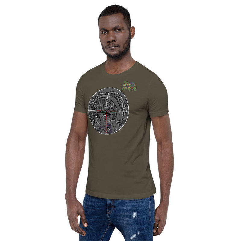 STINKE KUSH PRAK MODE Scope  Short-Sleeve Unisex T-Shirt