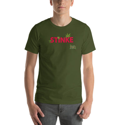 STINKE TAG Short-Sleeve Unisex T-Shirt