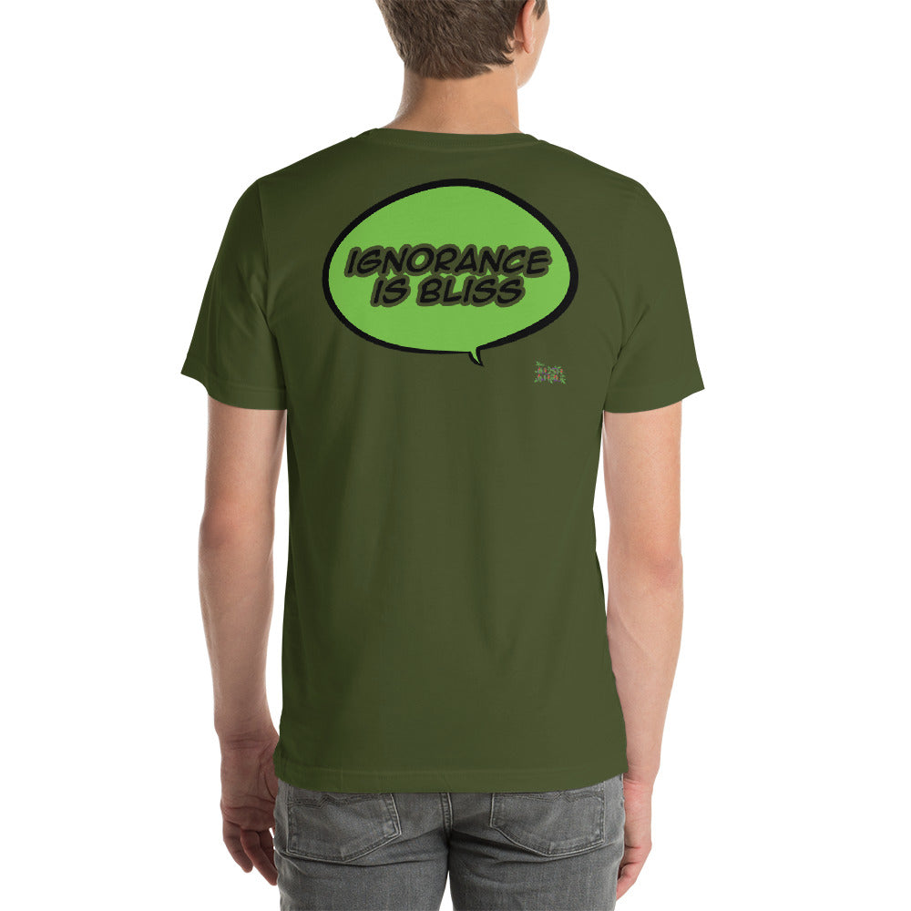 KINKE BUBBLE - TAG Short-Sleeve Unisex T-Shirt