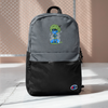 LAZE KUSH Embroidered Champion Backpack