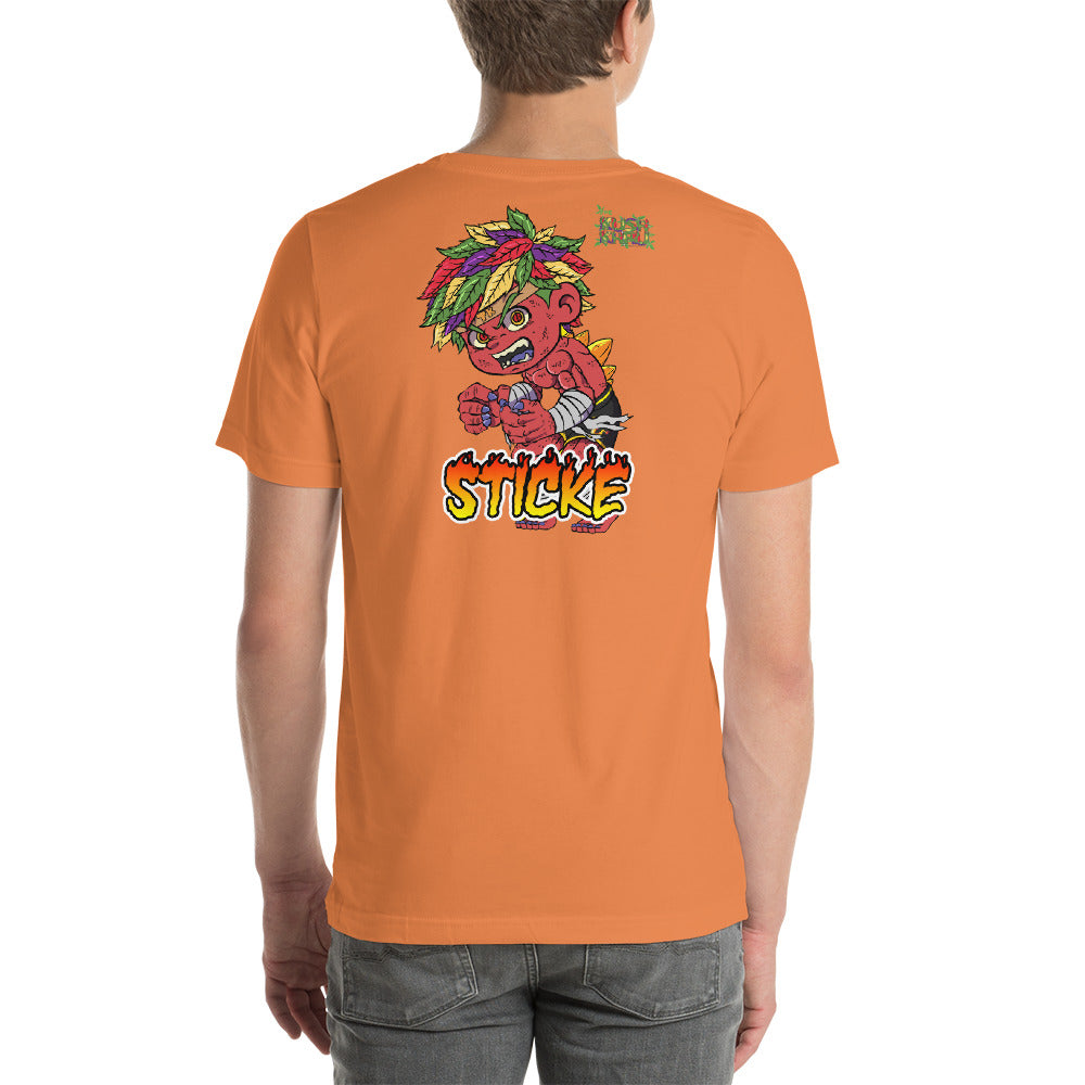 STICKE KUSH TIRACCHAN Mode Short-Sleeve Unisex T-Shirt