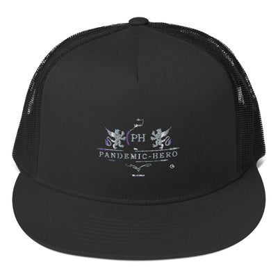 """PANDEMIC-HERO-5"" Trucker Cap"