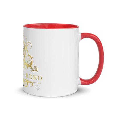 """PANDEMIC-HERO-11"" Mug with Color Inside"