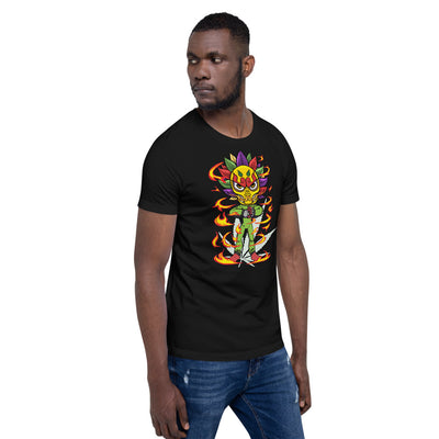STICKE KUSH KAR-FEA-YAM Mode Short-Sleeve Unisex T-Shirt